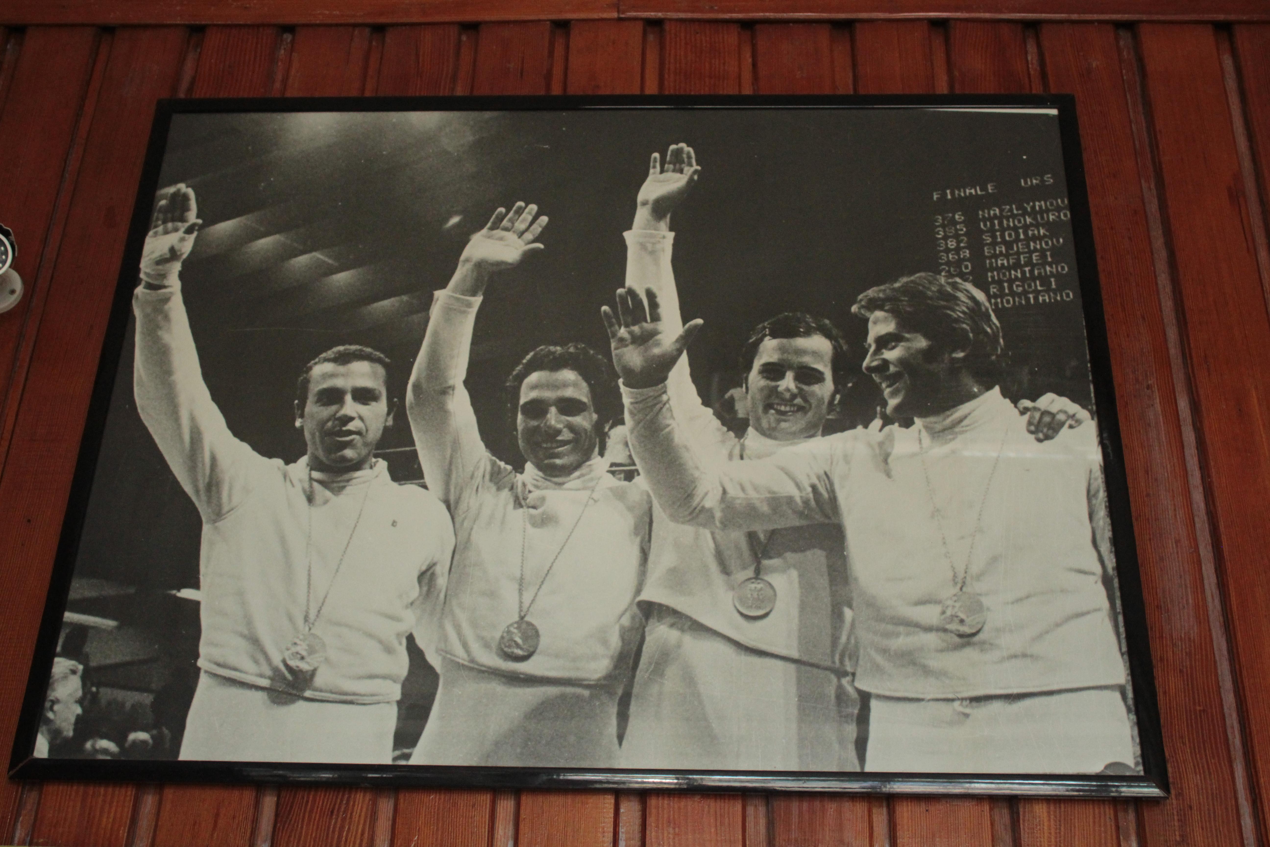 squadra olimpica 1972