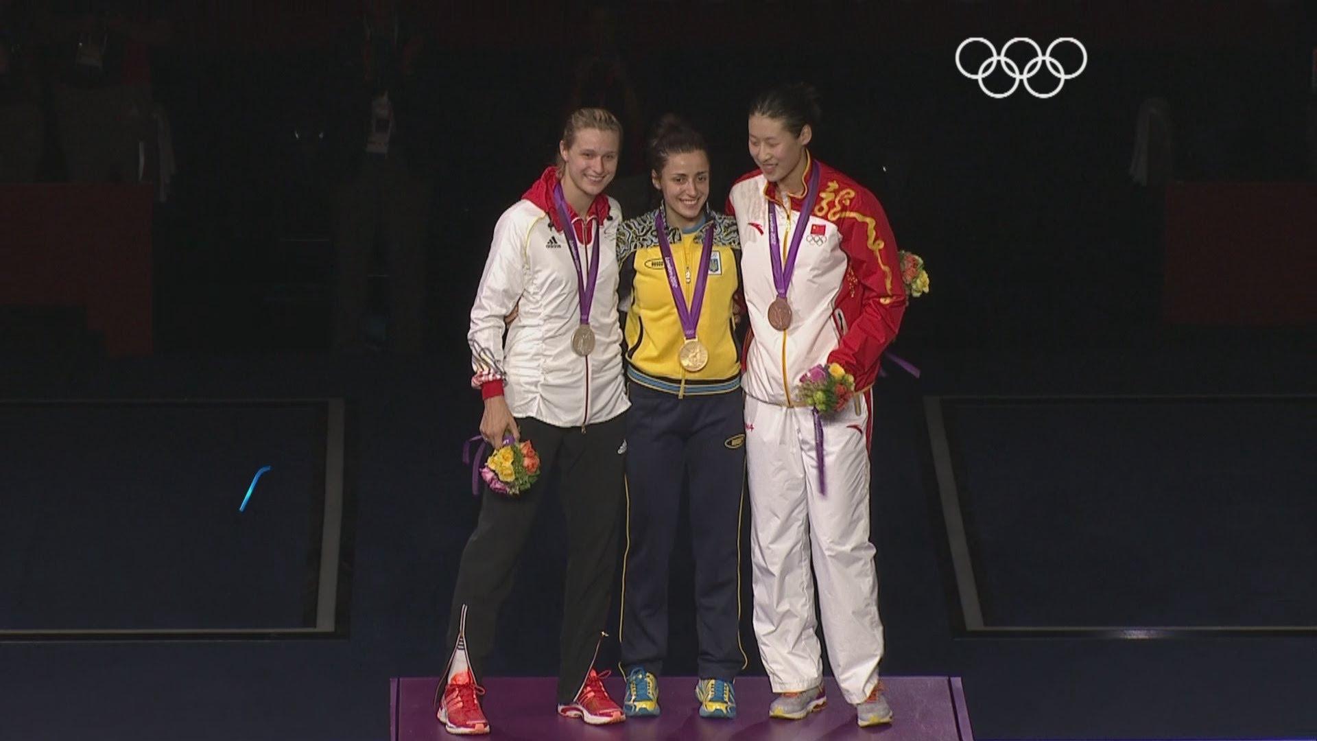 podio londra 2012 spada donne